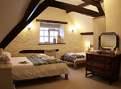 My bedroom at the Cider House